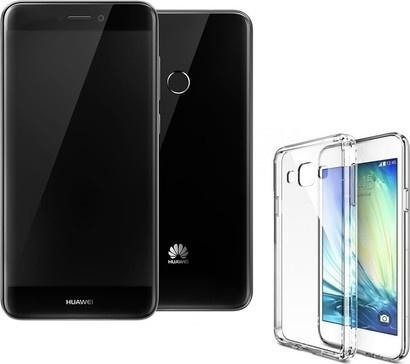 Huawei P9 2017 Black + pouzdro Merc