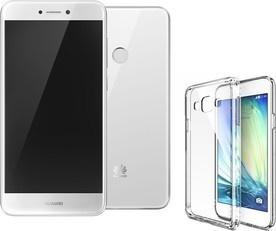 Huawei P9 2017 White + pouzdro Merc