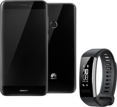 Huawei P9 Lite 2017 Black + Band 2