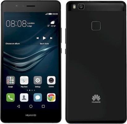 Huawei P9 Lite Black + pouzdro