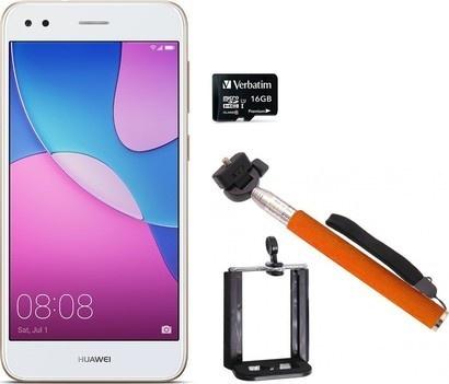 Huawei P9 Lite mini Gold + microSD + selfie