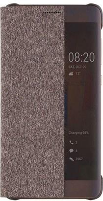 Huawei S-View Pouzdro Brown pro P10