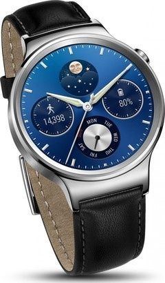 Huawei Watch W1 Stainless Steel/Leather
