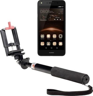 Huawei Y5 II DS Black + selfie tyč