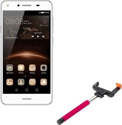 Huawei Y5 II DS White + selfie tyč
