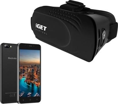 iGET GA7 Black + 3D brýle R1