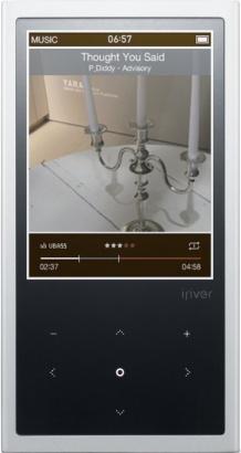 Iriver E200 8GB SILVER