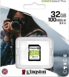 Kingston 32GB SDHC U1 V10 CL10 100MB/s