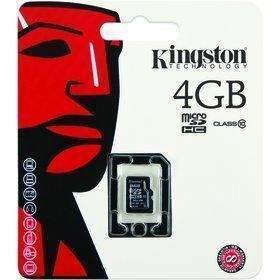 Kingston Micro SDHC 4GB CL10 SP SDC10