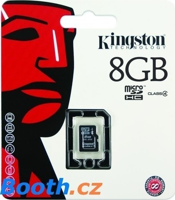 Kingston Micro SDHC 4GB CL4 SP SDC4