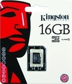 Kingston MicroSDHC 16GB CL10 SP SDC10