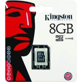 Kingston MicroSDHC 8GB CL4 SP SDC4