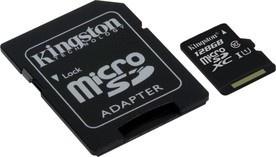 Kingston MicroSDXC 128GB UHS-1 SDC10G2