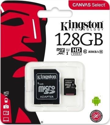 Kingston MicroSDXC 128GB UHS-1 SDCS