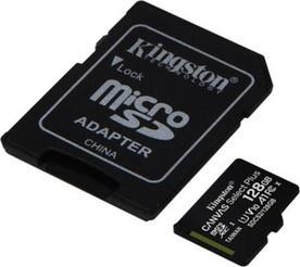 Kingston MicroSDXC 128GB UHS-1 SDCS v2