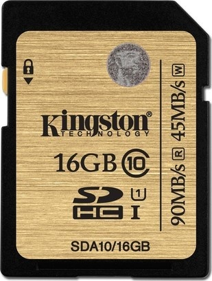 Kingston SDHC 16GB UHS-I Class 1