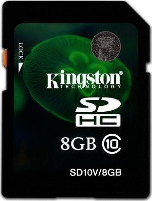Kingston SDHC 8GB CL10 SD10V