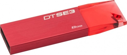 Kingston USB FD 8GB DT SE3 Red