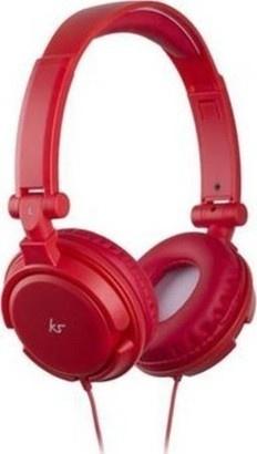 KitSound iD,mikrofon3,5mm,červená KSIDRD
