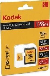 Kodak microSDXC 128GB Class10 U1 adaptér