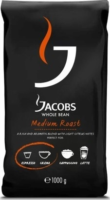 KRAFT FOODS Medium Roast zrnková káva 1 kg
