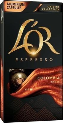 L'Or Columbia kapsle 10ks