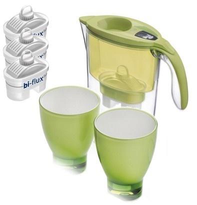 Laica STREAM Line zelená + 3 filtry + 2 pohárky