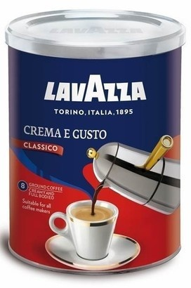 Lavazza Crema E Gusto káva mletá 250g
