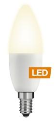 Ledon LED žárovka B35 5W D-CL