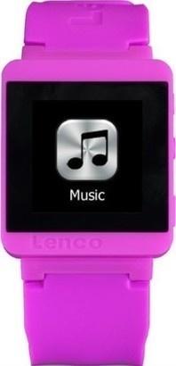 LENCO MP3 Sportwatch 100 růžový