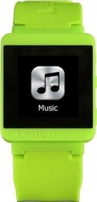 LENCO MP3 Sportwatch 100 zelený