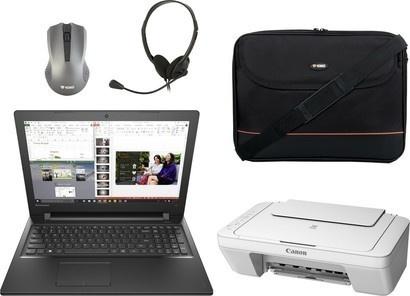Lenovo IP 300 bez DVD + příslušenství + tiskárna