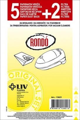 LIV filtrační sáčky Rondo 5+2