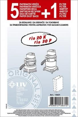 LIV SMS filtrační sáčky Rio 5+1