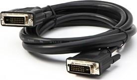 LOGO Kabel DVI M- DVI M 2m stíněný černý
