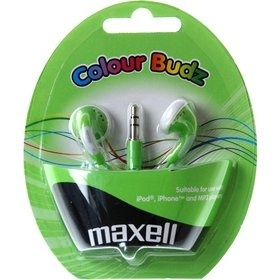 Maxell 303361 COLOUR BUDZ GREEN