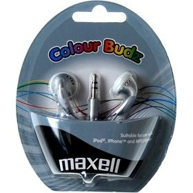 Maxell 303362 COLOUR BUDZ SILVER