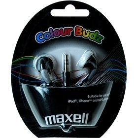 Maxell 303483 COLOUR BUDZ BLACK