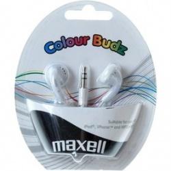 Maxell 303484 COLOUR BUDZ WHITE
