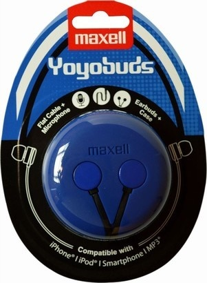 Maxell 303728 Yoyo Buds Blue + Black