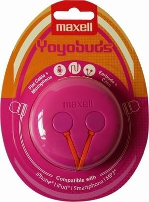 Maxell 303729 Yoyo Buds Pink + Orange