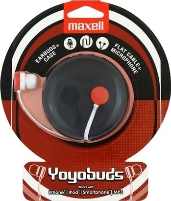 Maxell 303744 Yoyo Buds red + white
