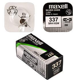 Maxell 337/SR416SW 1BP Ag