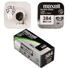 Maxell 384/SR41SW/V384 1BP Ag