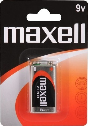Maxell 6F22 1BP Zinc 1x 9V