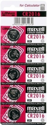 Maxell CR 2016 5BP
