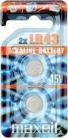 Maxell LR 43L 2BP 186 / V12GA