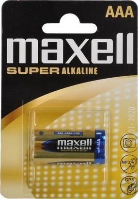 Maxell LR03 2BP AAA SUPER ALK