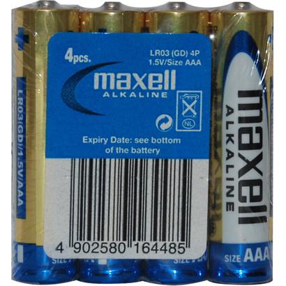 Maxell LR03 4S ALK 4x AAA (R03) Shrink