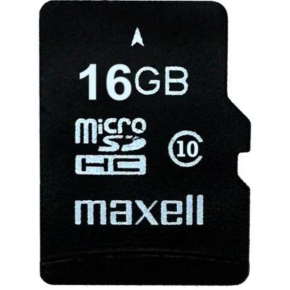 Maxell MicroSDHC 16GB CL10 + adpt 854717
